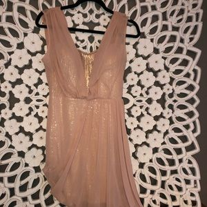 Bebe Dress Perfect for Bridesmaids or Events!